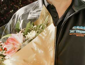 courier flower delivery edmonton